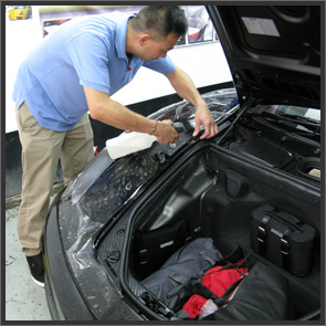 Installation - Unrivalled installations.  Not all Paint Protection Film installers are the same