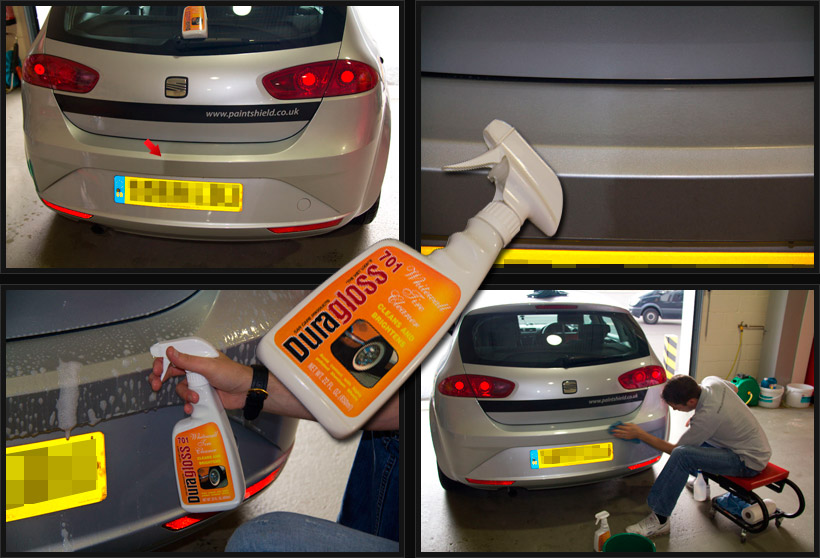 Paint Protection Film - Yellowing